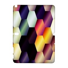 Colorful Hexagon Pattern Galaxy Note 1 by Nexatart