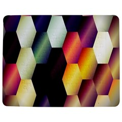 Colorful Hexagon Pattern Jigsaw Puzzle Photo Stand (rectangular) by Nexatart
