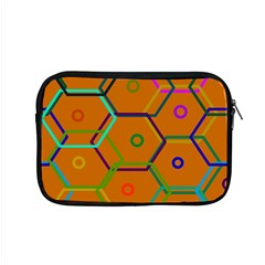 Color Bee Hive Color Bee Hive Pattern Apple Macbook Pro 15  Zipper Case by Nexatart