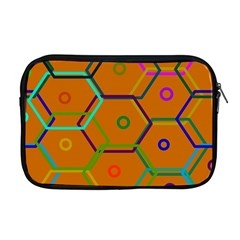 Color Bee Hive Color Bee Hive Pattern Apple Macbook Pro 17  Zipper Case