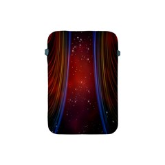 Bright Background With Stars And Air Curtains Apple Ipad Mini Protective Soft Cases by Nexatart