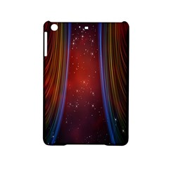 Bright Background With Stars And Air Curtains Ipad Mini 2 Hardshell Cases