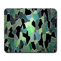 Wallpaper Background With Lighted Pattern Large Mousepads by Nexatart