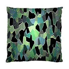 Wallpaper Background With Lighted Pattern Standard Cushion Case (two Sides) by Nexatart