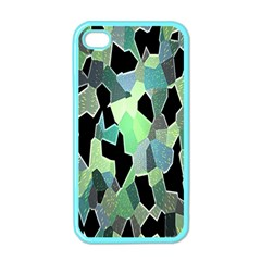 Wallpaper Background With Lighted Pattern Apple Iphone 4 Case (color) by Nexatart