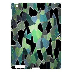 Wallpaper Background With Lighted Pattern Apple Ipad 3/4 Hardshell Case by Nexatart