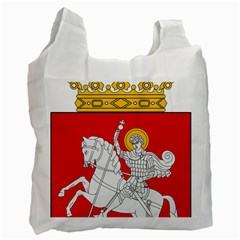Lesser Coat Of Arms Of Georgia Recycle Bag (one Side)