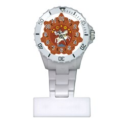Coat Of Arms Of The Democratic Republic Of Georgia (1918 1921, 1990 2004) Plastic Nurses Watch by abbeyz71