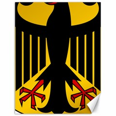 Coat Of Arms Of Germany Canvas 18  X 24   by abbeyz71
