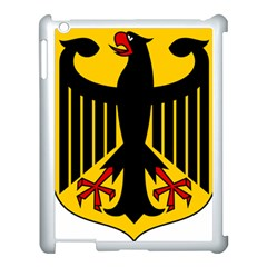 Coat Of Arms Of Germany Apple Ipad 3/4 Case (white) by abbeyz71