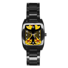 Coat Of Arms Of Germany Stainless Steel Barrel Watch by abbeyz71