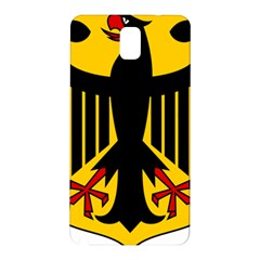 Coat Of Arms Of Germany Samsung Galaxy Note 3 N9005 Hardshell Back Case by abbeyz71