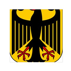 Coat Of Arms Of Germany Small Satin Scarf (square) by abbeyz71