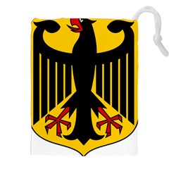 Coat Of Arms Of Germany Drawstring Pouches (xxl) by abbeyz71