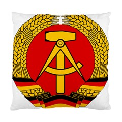 National Emblem Of East Germany  Standard Cushion Case (two Sides) by abbeyz71