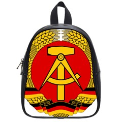 National Emblem Of East Germany  School Bags (small)  by abbeyz71