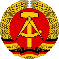 National Emblem Of East Germany  Magic Photo Cubes by abbeyz71