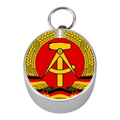 National Emblem Of East Germany  Mini Silver Compasses by abbeyz71