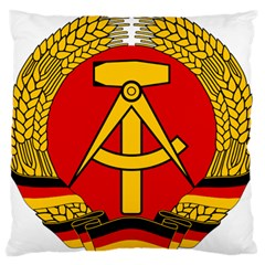 National Emblem Of East Germany  Standard Flano Cushion Case (one Side) by abbeyz71