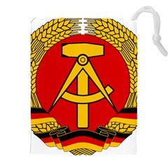 National Emblem Of East Germany  Drawstring Pouches (xxl) by abbeyz71