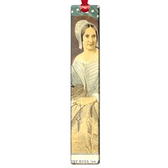 Betsy Ross Author Of The First American Flag And Seal Patriotic Usa Vintage Portrait Large Book Marks by yoursparklingshop