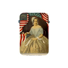 Betsy Ross Author Of The First American Flag And Seal Patriotic Usa Vintage Portrait Apple Ipad Mini Protective Soft Cases by yoursparklingshop