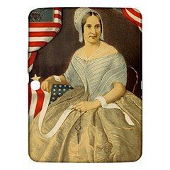 Betsy Ross Author Of The First American Flag And Seal Patriotic Usa Vintage Portrait Samsung Galaxy Tab 3 (10 1 ) P5200 Hardshell Case  by yoursparklingshop