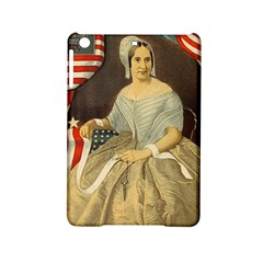 Betsy Ross Author Of The First American Flag And Seal Patriotic Usa Vintage Portrait Ipad Mini 2 Hardshell Cases by yoursparklingshop
