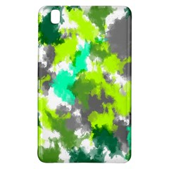 Abstract Watercolor Background Wallpaper Of Watercolor Splashes Green Hues Samsung Galaxy Tab Pro 8 4 Hardshell Case