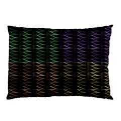 Multicolor Pattern Digital Computer Graphic Pillow Case (two Sides) by Nexatart
