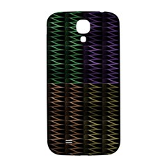 Multicolor Pattern Digital Computer Graphic Samsung Galaxy S4 I9500/i9505  Hardshell Back Case by Nexatart