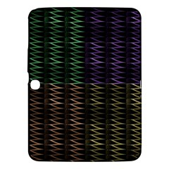 Multicolor Pattern Digital Computer Graphic Samsung Galaxy Tab 3 (10 1 ) P5200 Hardshell Case  by Nexatart