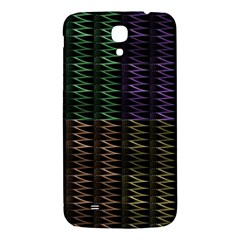Multicolor Pattern Digital Computer Graphic Samsung Galaxy Mega I9200 Hardshell Back Case by Nexatart