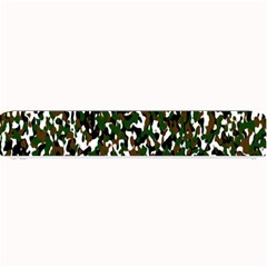 Camouflaged Seamless Pattern Abstract Small Bar Mats by Nexatart