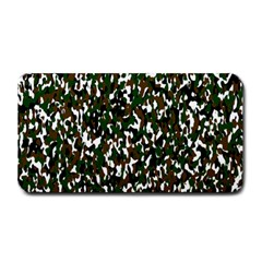 Camouflaged Seamless Pattern Abstract Medium Bar Mats by Nexatart