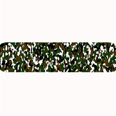 Camouflaged Seamless Pattern Abstract Large Bar Mats by Nexatart
