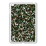 Camouflaged Seamless Pattern Abstract Apple iPad Mini Case (White) Front