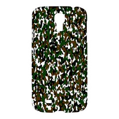 Camouflaged Seamless Pattern Abstract Samsung Galaxy S4 I9500/i9505 Hardshell Case by Nexatart