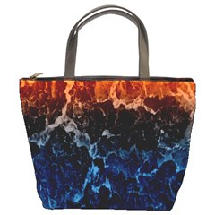 Abstract Background Bucket Bags by Nexatart