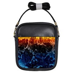 Abstract Background Girls Sling Bags by Nexatart