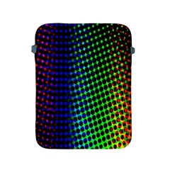 Digitally Created Halftone Dots Abstract Background Design Apple Ipad 2/3/4 Protective Soft Cases by Nexatart