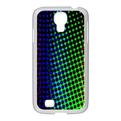 Digitally Created Halftone Dots Abstract Background Design Samsung Galaxy S4 I9500/ I9505 Case (white)