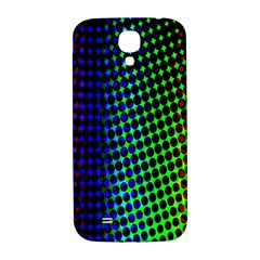 Digitally Created Halftone Dots Abstract Background Design Samsung Galaxy S4 I9500/i9505  Hardshell Back Case by Nexatart
