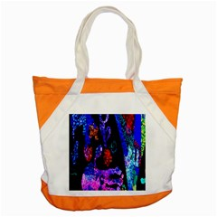 Grunge Abstract In Black Grunge Effect Layered Images Of Texture And Pattern In Pink Black Blue Red Accent Tote Bag by Nexatart