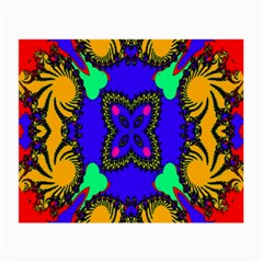 Digital Kaleidoscope Small Glasses Cloth (2 Side) by Nexatart