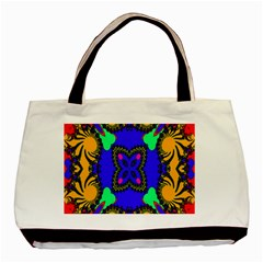 Digital Kaleidoscope Basic Tote Bag (two Sides) by Nexatart
