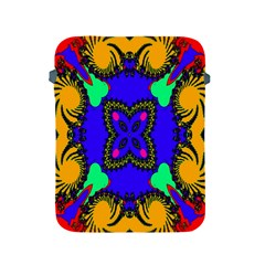 Digital Kaleidoscope Apple Ipad 2/3/4 Protective Soft Cases by Nexatart