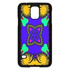 Digital Kaleidoscope Samsung Galaxy S5 Case (black) by Nexatart