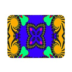 Digital Kaleidoscope Double Sided Flano Blanket (mini)