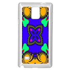 Digital Kaleidoscope Samsung Galaxy Note 4 Case (white)